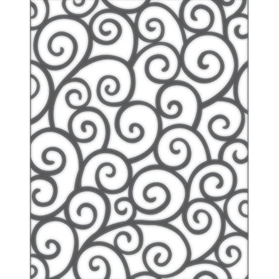 Placa para Relevo 2D Elegance Toke e Crie PPR009 13,9x10,7 Arabescos