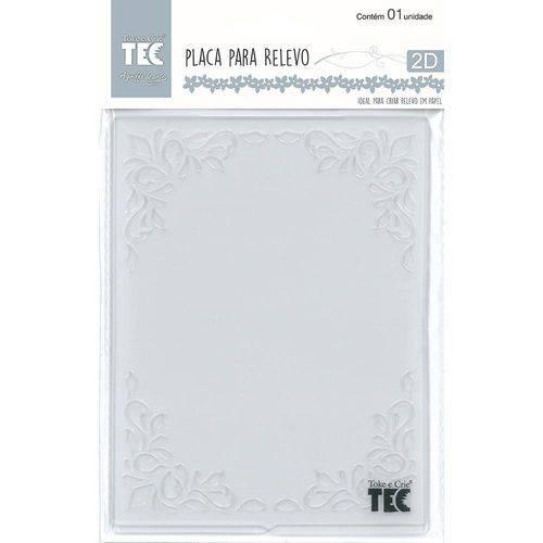 Placa para Relevo 2D Quadro Decorativo 107x139mm Toke e Crie - 20915 - PPR001