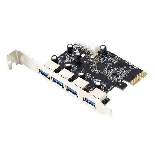 Placa Pci-express com 4 Portas USB 3.0
