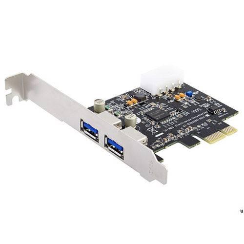 Placa USB 3.0 PCI-E 2 Portas