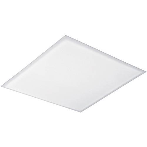 Plafon de Encaixe Quadrado Mini 18x18cm Metal e Acrílico Branco - Attena