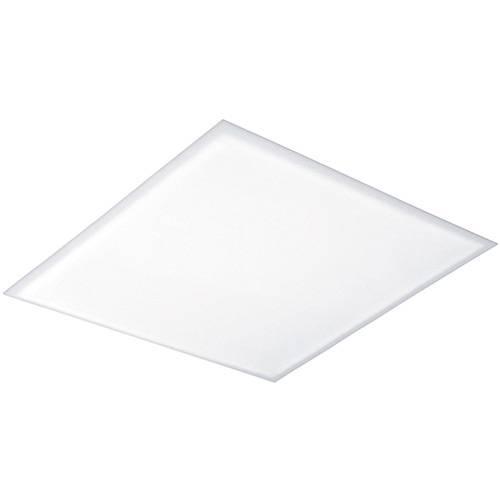 Plafon de Encaixe Quadrado Pequeno 25x25cm Metal e Acrílico Branco - Attena