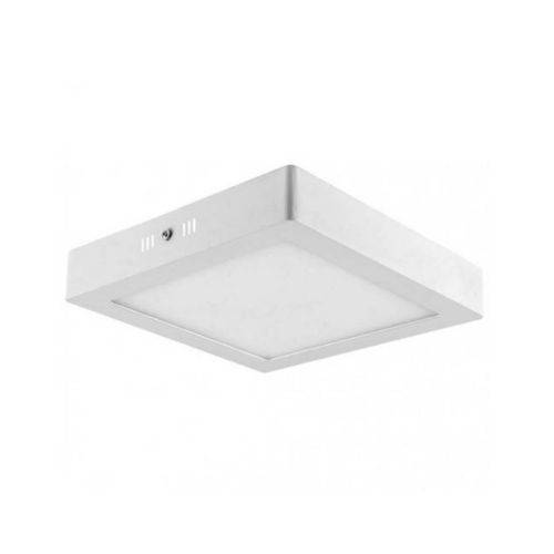 Plafon de Led 25w Sobrepor - Branco Frio 6000k - 30cm X 30cm