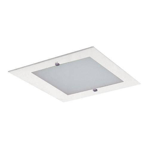 Plafon Flex Sobrepor e Embutir 1 Lâmpada Branco Bivolt