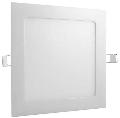 Plafon LED 18w Embutir Quadrado 22X22cm - Boreal LED