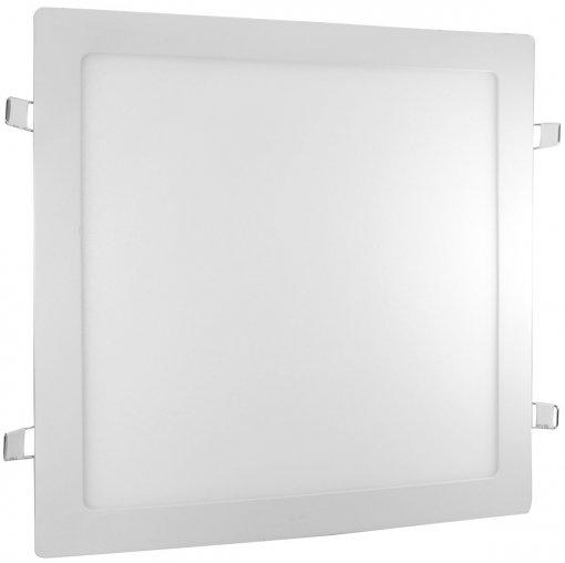 Plafon LED Embutir Quadrado 25W Luminária LED Embutir Slim