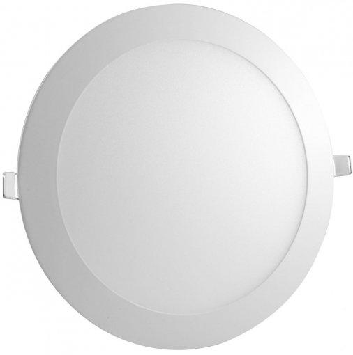 Plafon LED Embutir Redondo 24W Luminária LED Embutir Slim