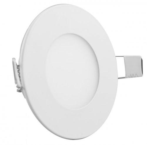 Plafon LED Embutir Redondo 3W Luminária LED Embutir Slim