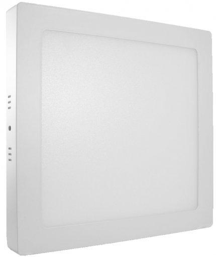 Plafon LED Sobrepor Quadrado 18W Branco Frio Hitec