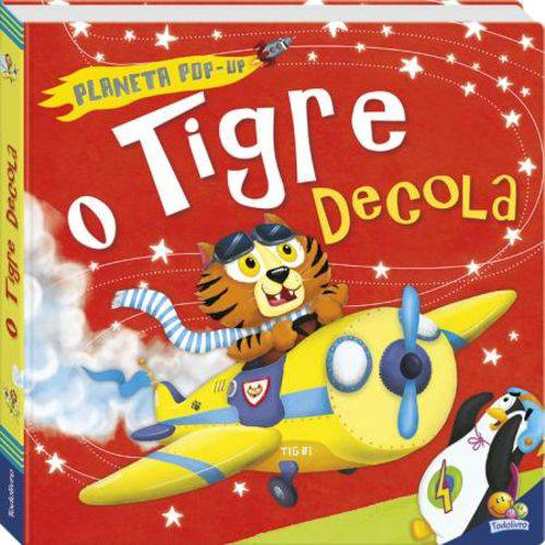 Planeta Pop-Up - o Tigre Decola