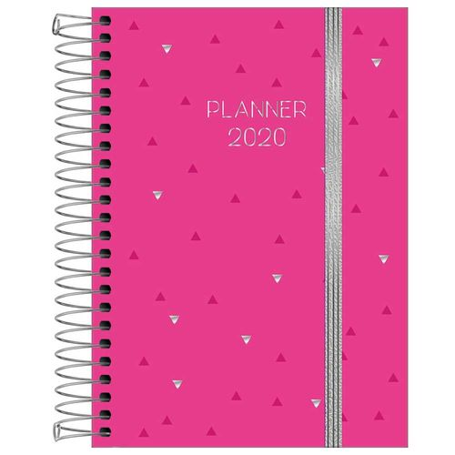 Planner 2020 Tilibra Neon Rosa 1026761