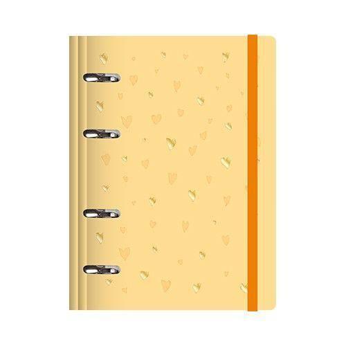 Planner Amarelo C/ Agenda Semanal - Ótima Maxi + 1 Roll Notes 4408-4