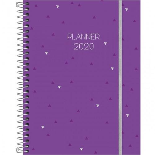 Agenda Espiral Tilibra Planner Neon