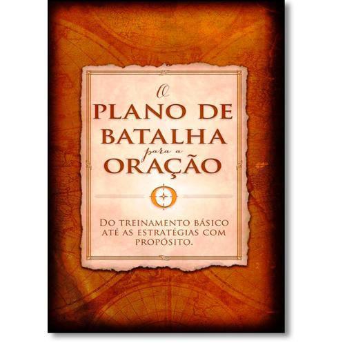 Plano de Batalha para a Oracao, o - Bv Books