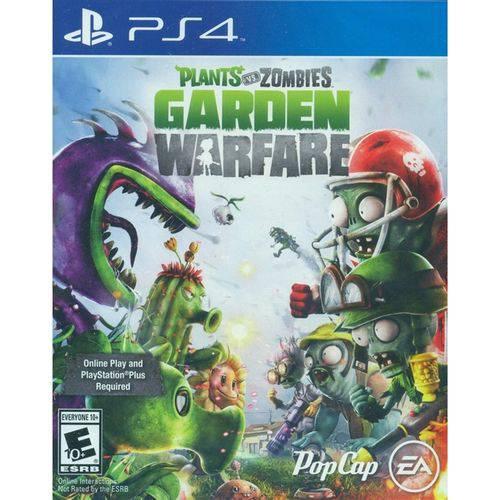 Plants Vs Zombies Garden Warfare - Ps4