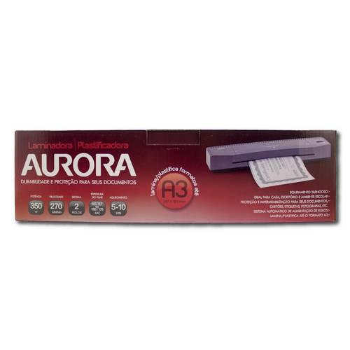 Plastificadora / Laminadora - A3 - Aurora - 110V - LM3233H