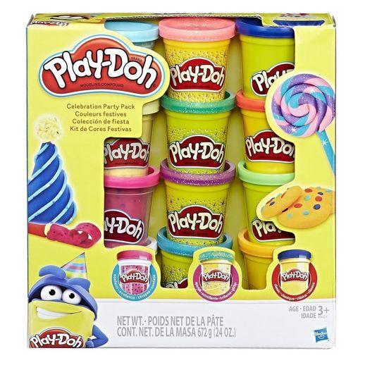 Play Doh Conjunto de Cores Festivas - Hasbro