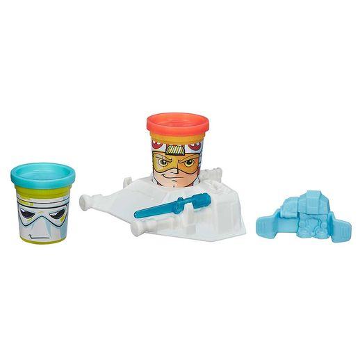 Play Doh Conjunto Luke e Snowtrooper - Hasbro