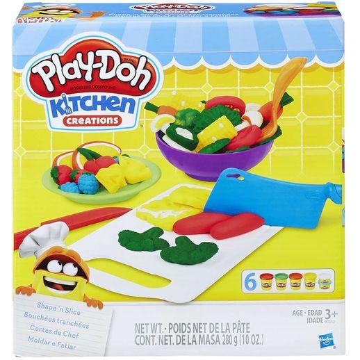 Play Doh Conjunto Moldar e Fatiar - Hasbro