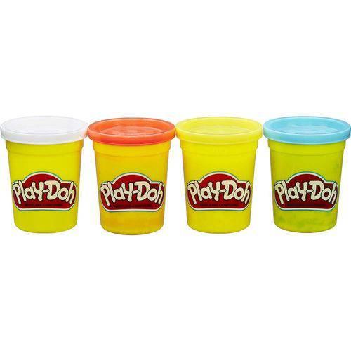 Play Doh Cores Clássicas Sortidas 4 Potes - Hasbro