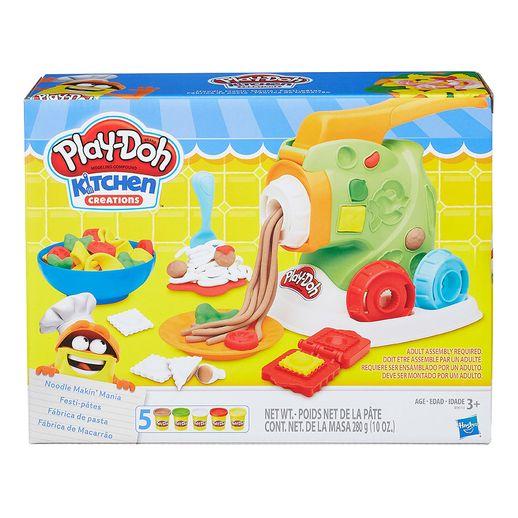 Play Doh Fábrica de Macarrão - Hasbro
