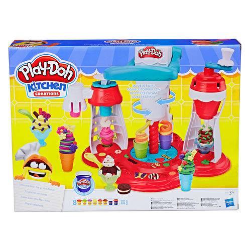 Play Doh Supermaquina de Sorvete - Hasbro
