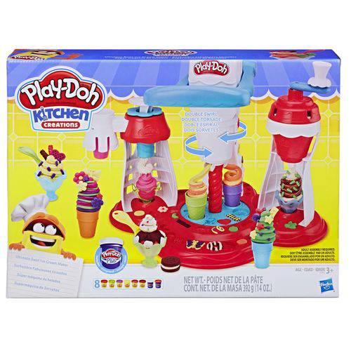 Play-doh Supermáquina de Sorvetes - Hasbro