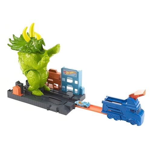 Play Set Hot Wheels Ataque de Triceratops
