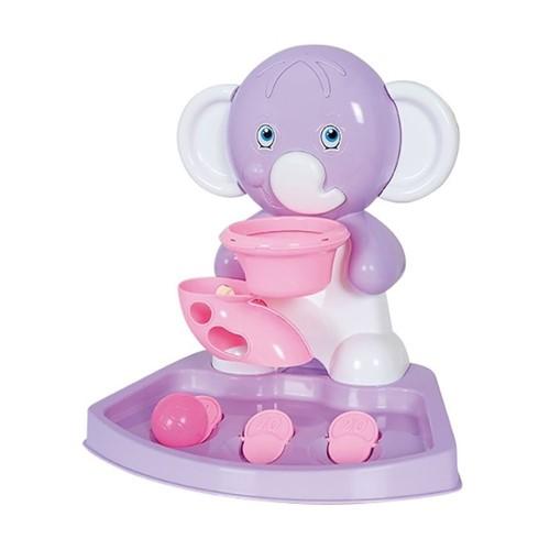 Play Time Basquete Elefante Rosa 2159 - Cotiplas