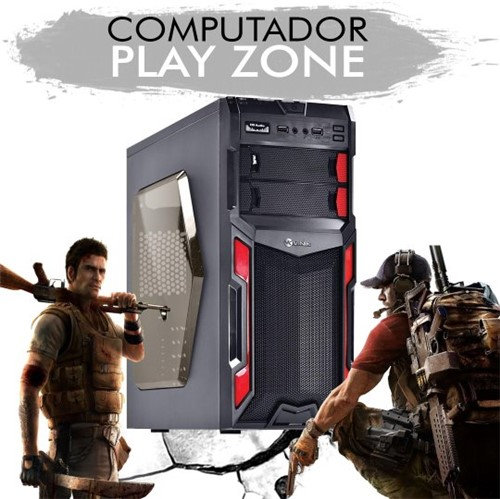PLAY ZONE - Ryzen 3 2200G, GTX 1050TI, 1 TB, 8GB RAM DDR4