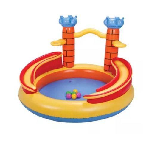 Playground Castelo 170 Litros 08 Bolinhas Mor