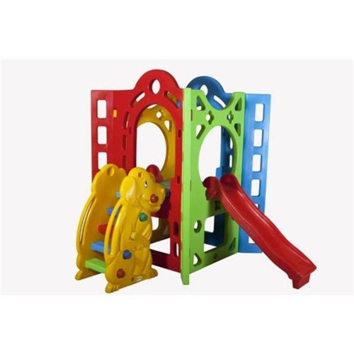 Playground Fortaleza 1A Alpha Brinquedos Verde