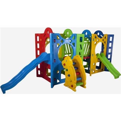 Playground Fortaleza 2A Alpha Brinquedos Verde
