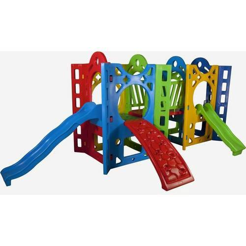 Playground Fortaleza 2 Alpha Brinquedos Verde