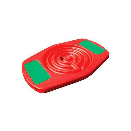 Playground Gangorra Labirinto Vermelho Alpha Brinquedos Vermelho Único