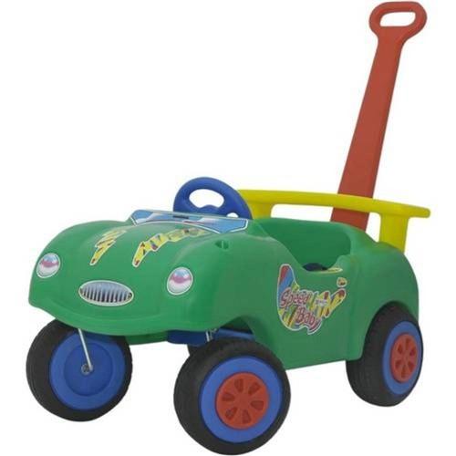 Playground Speed Car Verde Alpha Brinquedos