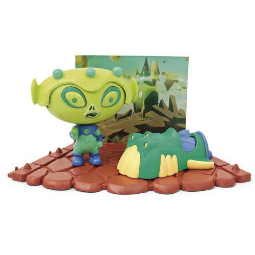 Playset e Mini Figura - Hero Eggs - Alien - Candide