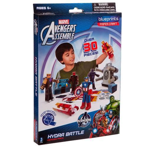Playset para Montar - Avengers - 30 Peças - Blueprints - Disney