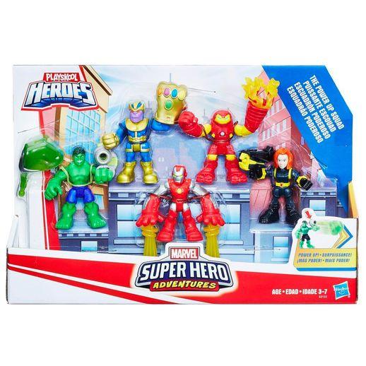 Playskool Aventuras da Marvel Super Hero Squad - Hasbro