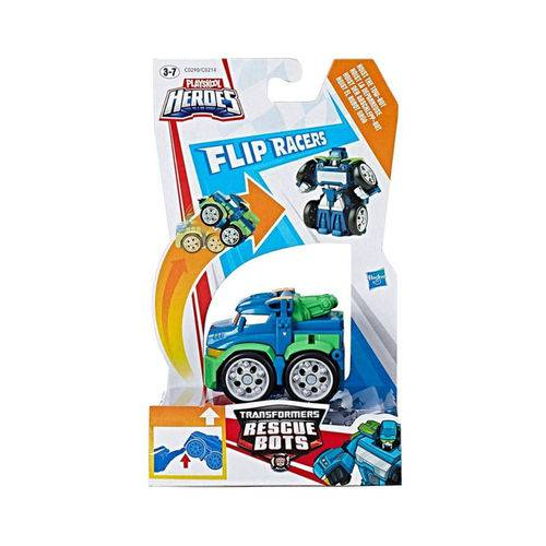 Playskool Heroes Transformers Flip Racers - Hoist o Robô Guincho - Hasbro
