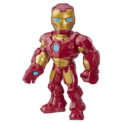 Playskool Mega Mighties Boneco Marvel Super Hero Adventures Homem de Ferro - Hasbro