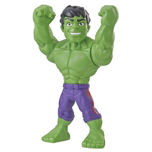 Playskool Mega Mighties Boneco Marvel Super Hero Adventures Hulk - Hasbro