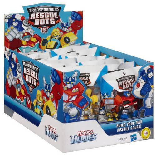 Playskool Transformers Mini Robô Rescue Bots Sortidos - Hasbro