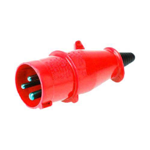 Plug Industrial Steck 2p+t 16a Vermelho 380v Newkon N-3079