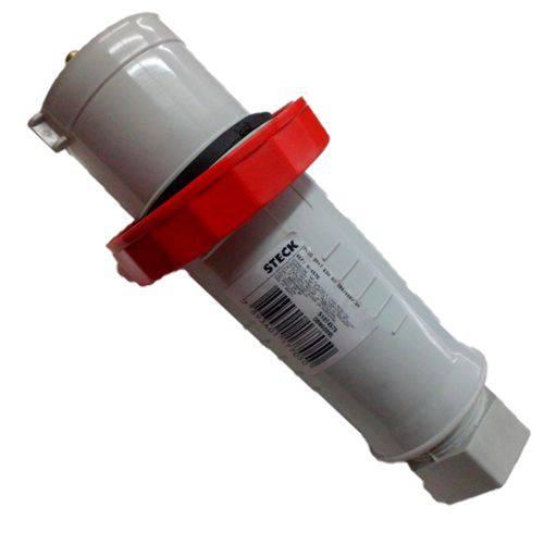 Plug Industrial Steck 3p+t 63a Vermelho 380v Newkon N-4576