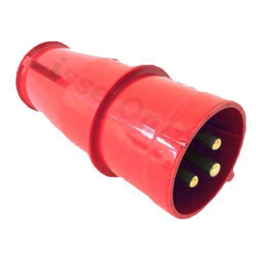 Plug Industrial Steck 2p+t 32a Vermelho 380v Newkon N-3279
