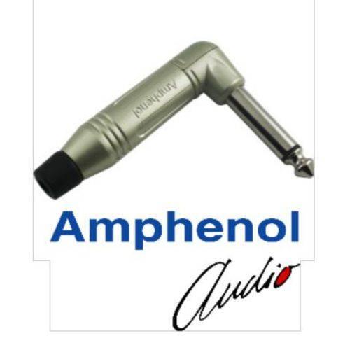Plug P10 Mono em L Amphenol Acpm-rn/n
