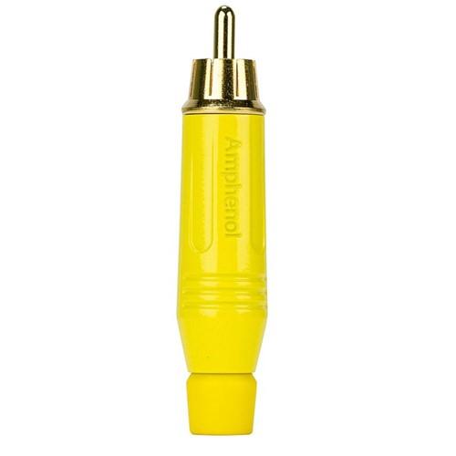 Plug RCA Macho ACPR-YEL, Amarelo - Amphenol