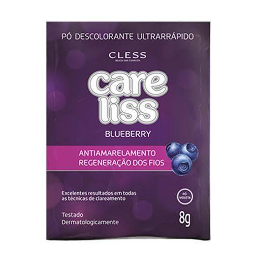 Pó Descolorante Care Liss Blueberry 8g