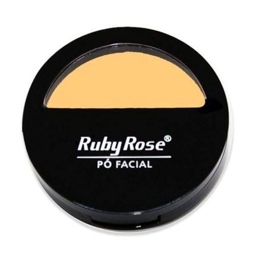 Pó Facial Ruby Rose Hb 7200 - Cor - 1 10,5g